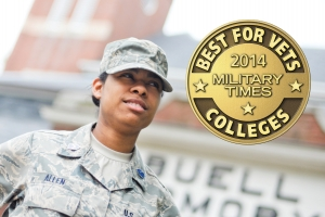 UK has been named a 2014 Best for Vets university